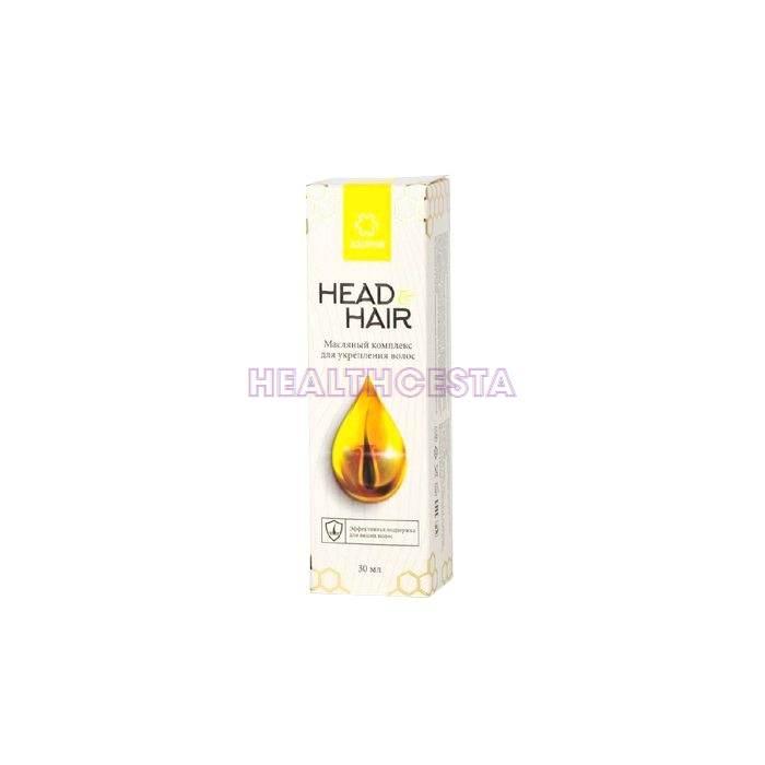Head&Hair - complesso di oli per rafforzare i capelli in Italia