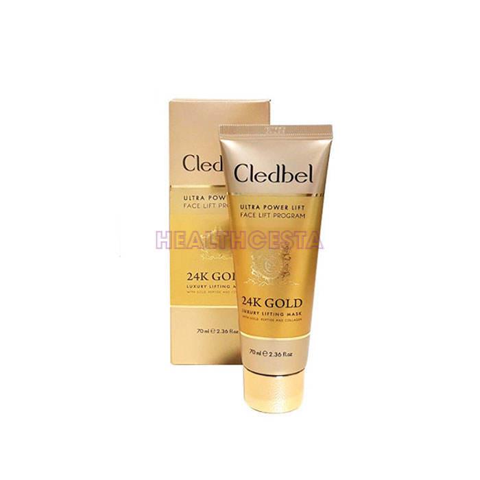 Cledbel 24K Gold maschera per il viso