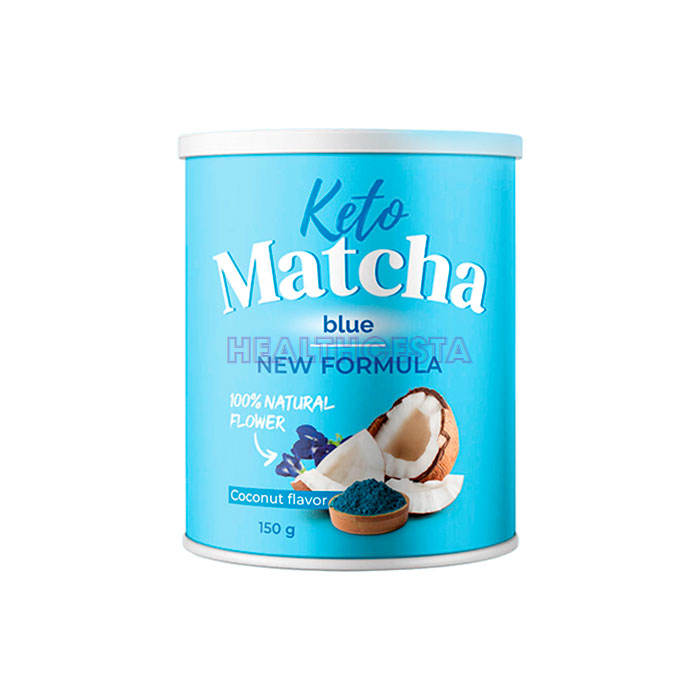 Keto Matcha Blue