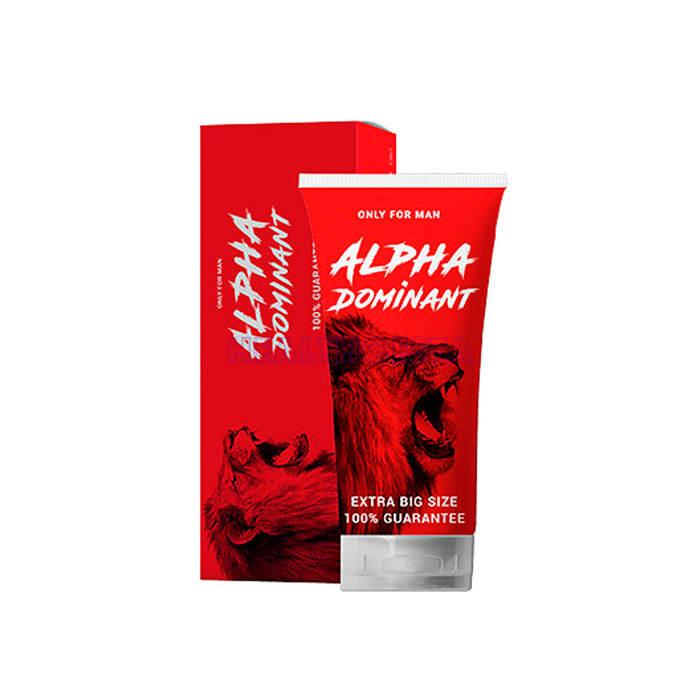 AlphaDominant gel per l`ingrandimento del pene